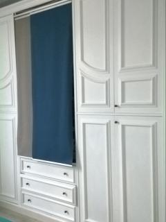 Ampio armadio ad uso dei clienti, in cui troverete ulteriori asciugamani e coperte