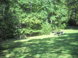 Picnic Area Next to Cabin