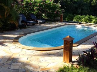 Studio PITAYA vue mer, terrasse, piscine et spa, Pointe-Noire