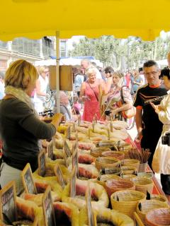 Or in Narbonne's famous market