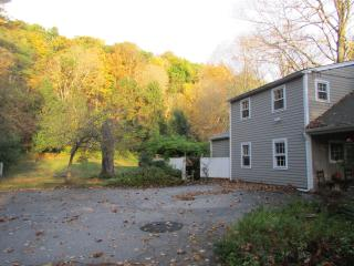 Fall Foliage with parking, Coach House, and entry porch