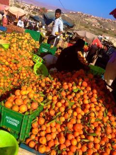 Fresh produce at Aurior souk, Agadir, Morocco