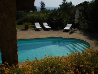 villa azzurra 300 metri dal mare piscina wifi, Ansedonia
