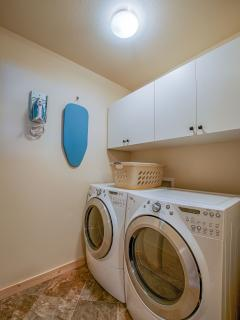 Private washer/dryer room