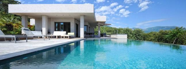 Villa de luxe merveilleux en Corse, 12p., Olmeto