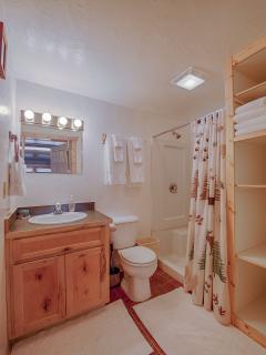 1 of 2 full bathrooms, main floor