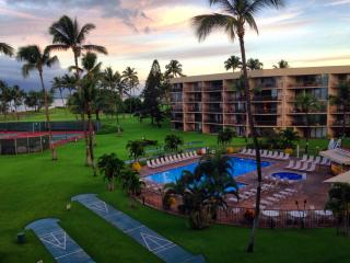 Another view from our Lanai, largest pool in Kihei