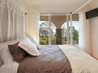 Luxurious main bedroom with views