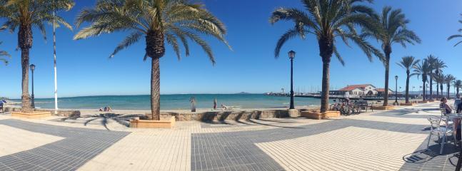 Local beach & promenade, perfect for a stroll or an energetic run.