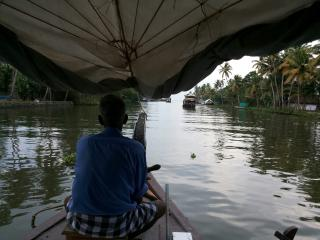 Boat House at Alleppey Kerala  India, Kumarakom