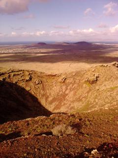 rutas de senderismo por los volcanes