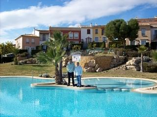 holiday villa at sierra cortina nr Benidorm, Cala Finestrat