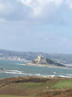View of St Michaels Mount from the Castle grounds