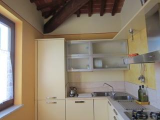 Kitchen, but only worry about breakfast as there are SO many restaurants to choose from!