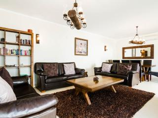 Open plan lounge and dining area