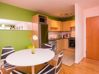 Dining and kitchen open plan