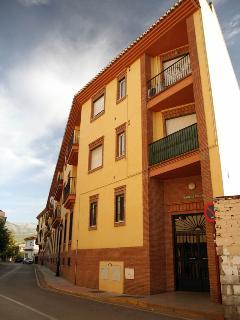Balcón del apartamento, en 2ª planta
