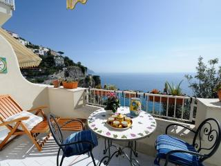 Happy House with terrace and sea view, Costa de Amalfi