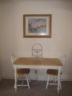 Dining area (Chairs have been upgraded)