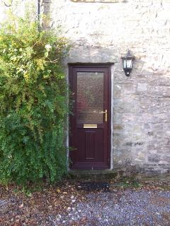 1 Swallowholm Cottages - Front Door