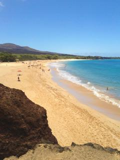 Big Beach in Makena, 15 minutes away