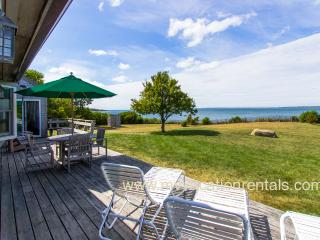 ABBON - North Shore Waterfront, Private Beach, Magnificent Views, Wifi, Room A/C, West Tisbury