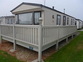 Luxury 8 Berth 3 Bedroom with Gated Veranda, Ingoldmells