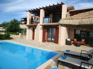 Seafront luxury villa EVA 2 floors(8+2),private pool, 30m from the sea area