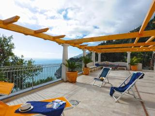 Villa Mirto with terrace and sea view