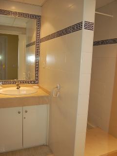 Adjacent shower room