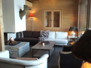 LUXURIOUS Chalet CLEMENTINE-SPA : 3 min.  ski out to TELECABINE VERBIER JACUZZI