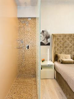 Ensuite shower from 2nd bedroom