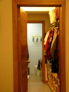 walk in closet for Master Bedroom