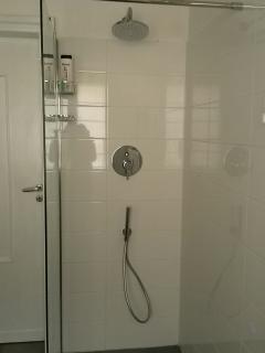 main bathroom - walk in shower