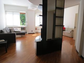Large apartment with park view
