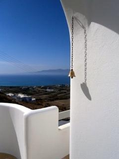 Cycladic style and blue view