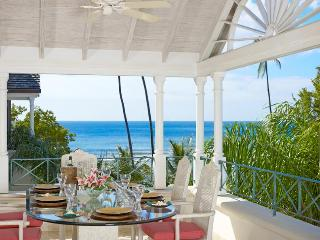 This exclusive, luxurious 2 story beachfront penthouse apartment offers an idyllic beach front experience, Speightstown