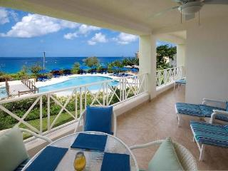 Stunning 2 Bed Apartment with Pool and Ocean Views, Barbados
