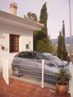 terraza/aparcamiento