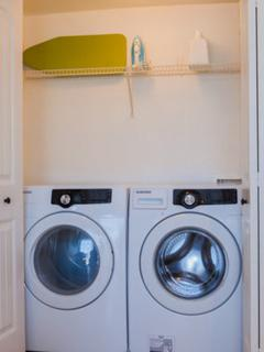 In unit high efficiency washer and dryer