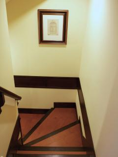 Stairs to second bedroom