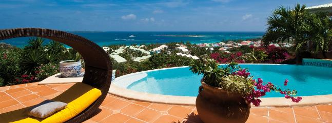 SPECIAL OFFER: St. Martin Villa 363 A Superb, Newly Renovated Home With Breathtaking Views Of The Atlantic Ocean, Anguilla And St Barth., Orient Bay