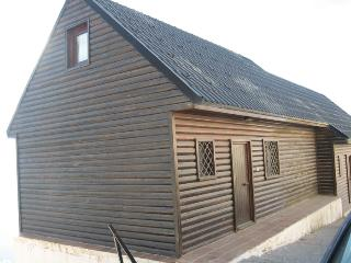 Casa de madera para 8 personas