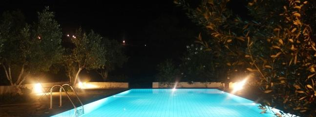 Night time swimming!