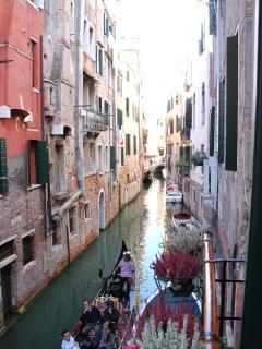 Rio San Giovanni Grisostomo from our balcony
