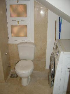 Laundry room and guest toilet