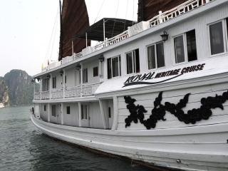Royal Heritage Cruise, Baie d'Halong