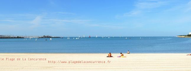 Plage de la Concurence - Concurence Beach 300 meters away from the house