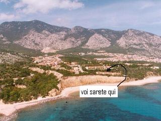 on the beach, Cala Gonone