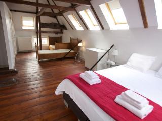 Singel loft apt bedroom